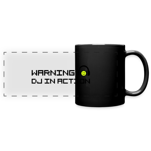 Warning DJ in Action - Panoramamok gekleurd