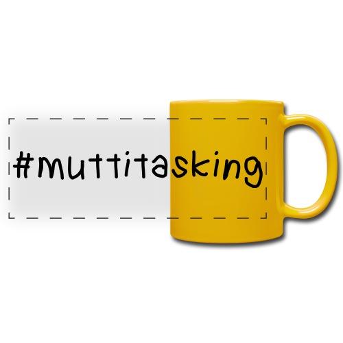 muttitasking - Panoramatasse farbig