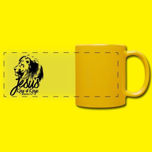 JESUS - KING OF KINGS - Revelations 19:16 - LION - Full Color Panoramic Mug