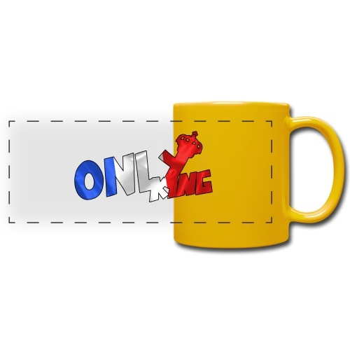 Logo ONLY KING edition francaise - Mug panoramique uni