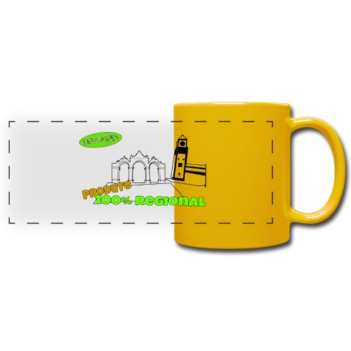 City Gates - Full Colour Panoramic Mug