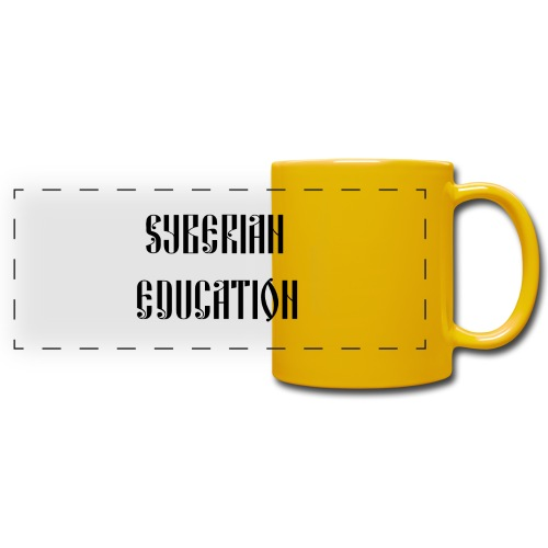 Russia Russland Syberian Education - Full Color Panoramic Mug