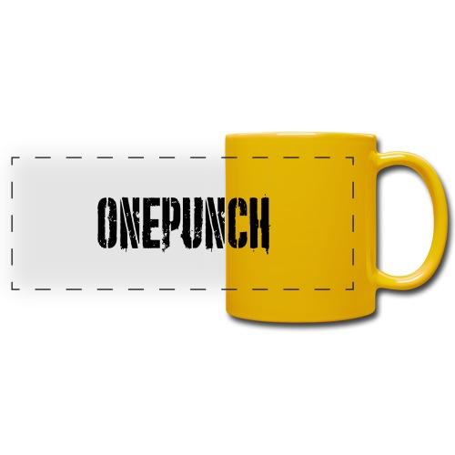 Boxing Boxing Martial Arts mma tshirt one punch - Full Color Panoramic Mug