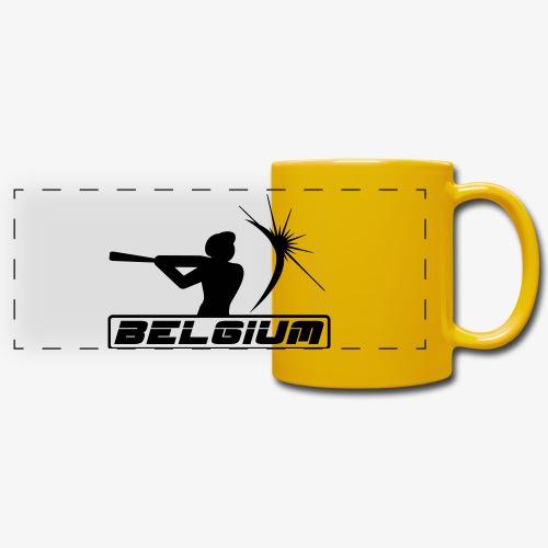 Belgium 2 - Mug panoramique uni