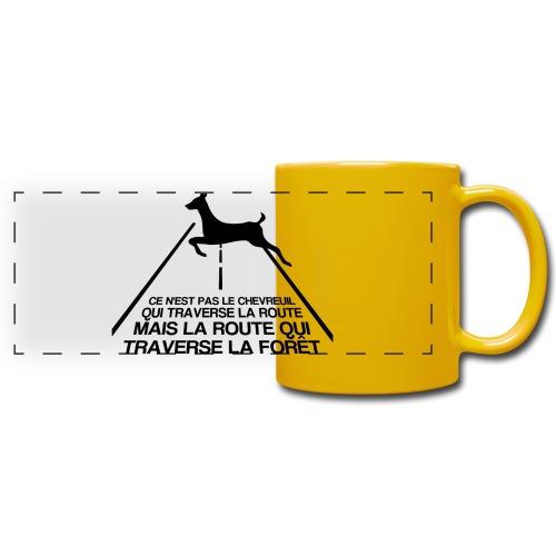 Chevreuil - Mug panoramique uni