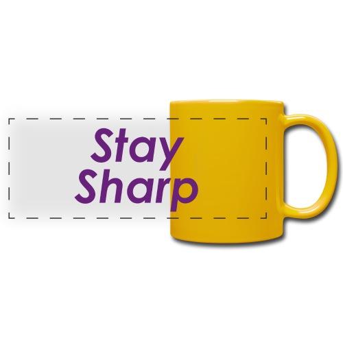 Stay Sharp - Tazza colorata con vista
