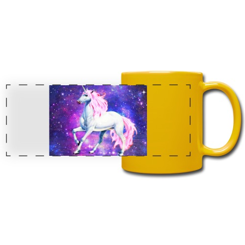 Magical unicorn shirt - Full Colour Panoramic Mug
