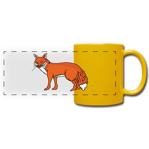 Roxo le renard - Mug panoramique uni