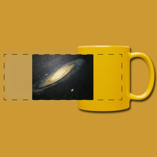 Andromeda - Mark Noble Art - Full Color Panoramic Mug