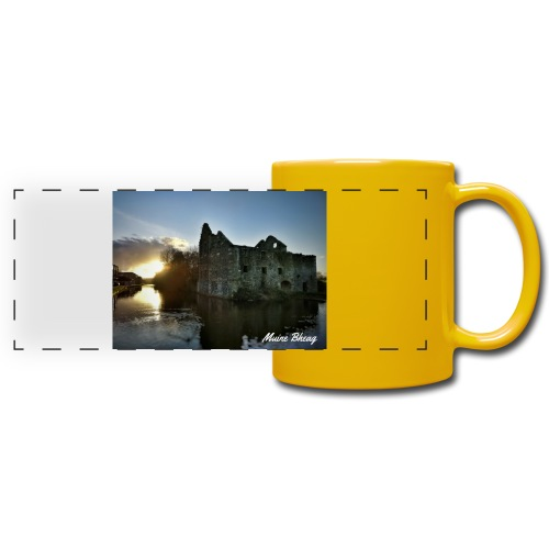 Rudkin's Mill, Bagenalstown - Full Colour Panoramic Mug