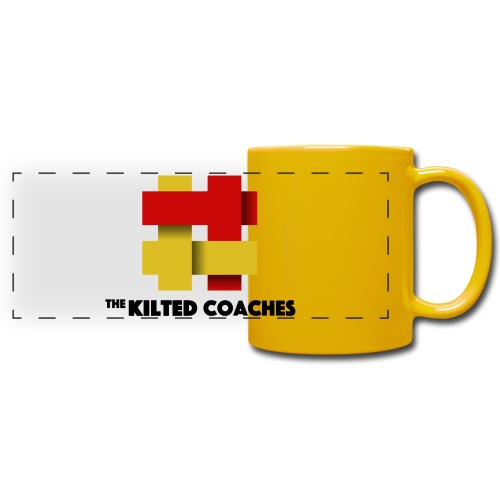 Kilted Coaches - Full Colour Panoramic Mug