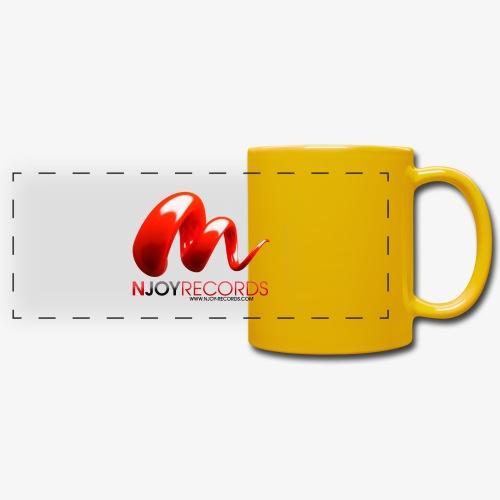 Logo Njoy Records Noir - Mug panoramique uni