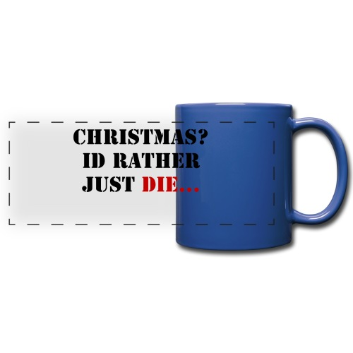 Christmas joy - Full Color Panoramic Mug