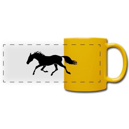 Cavallo - Tazza colorata con vista
