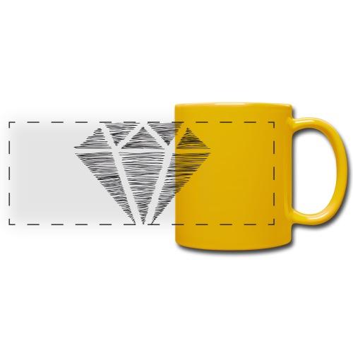 Diamante - Taza panorámica de colores