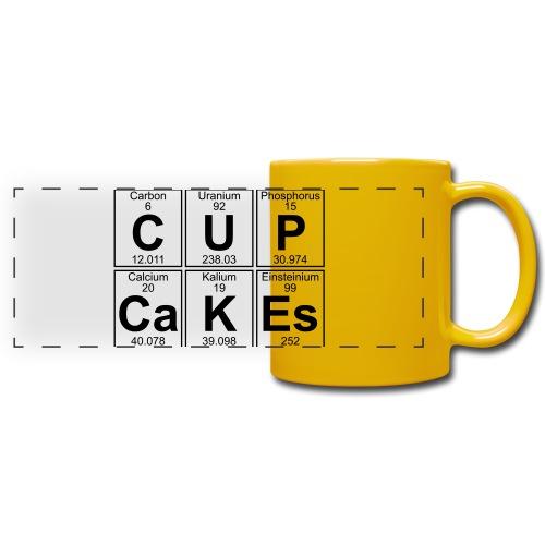 C-U-P-Ca-K-Es (cupcakes) - Full - Full Color Panoramic Mug