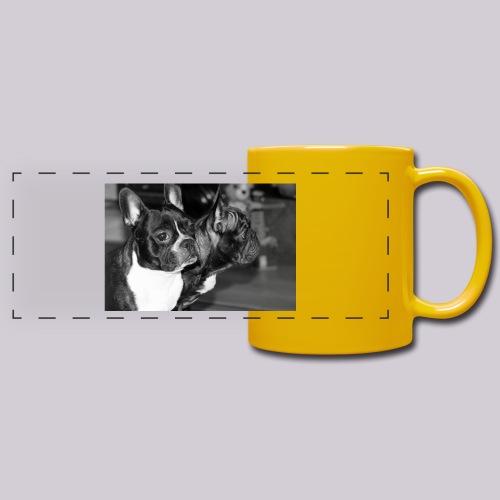 Frenchies - Full Color Panoramic Mug