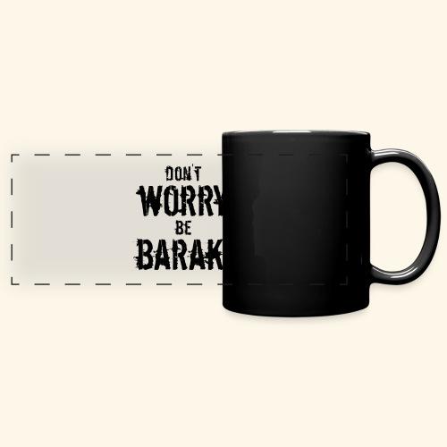 Be Baraki (Noir) - Mug panoramique uni