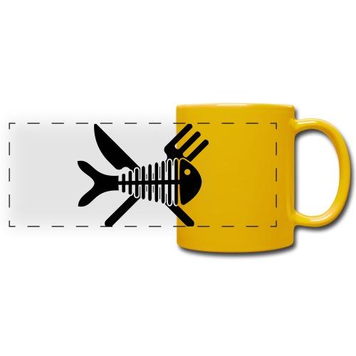 Poisson couvert - Mug panoramique uni