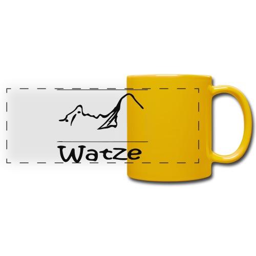 Watze - Panoramatasse farbig