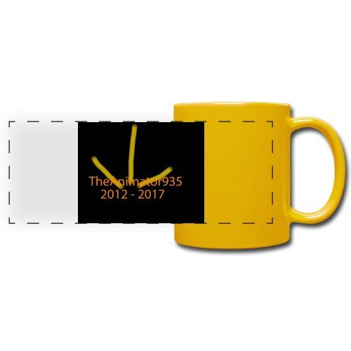 TheAnimator935 Logo - Full Color Panoramic Mug