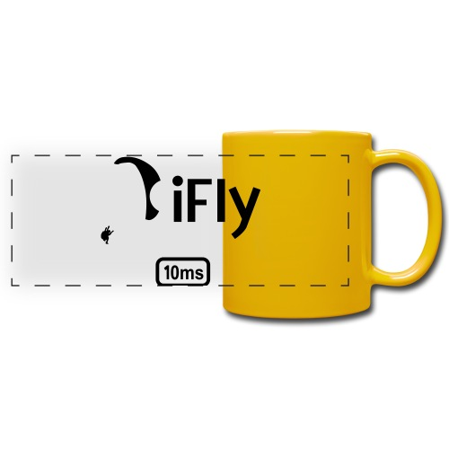 Paragliding iFly 10ms - Full Color Panoramic Mug