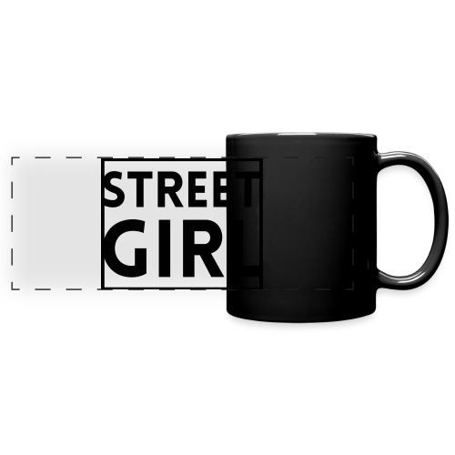 girl - Mug panoramique uni
