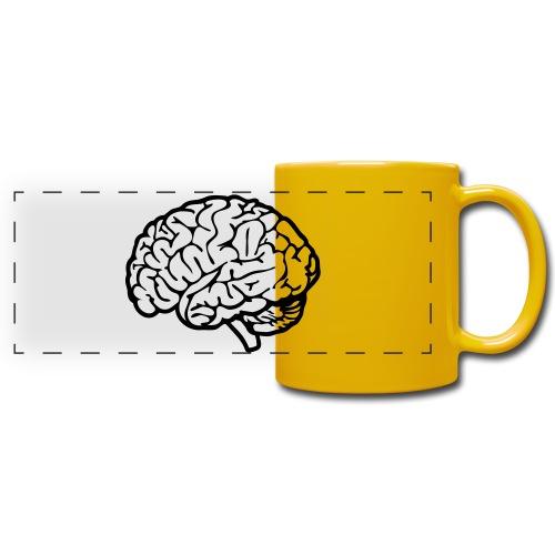 cerveau - Mug panoramique uni