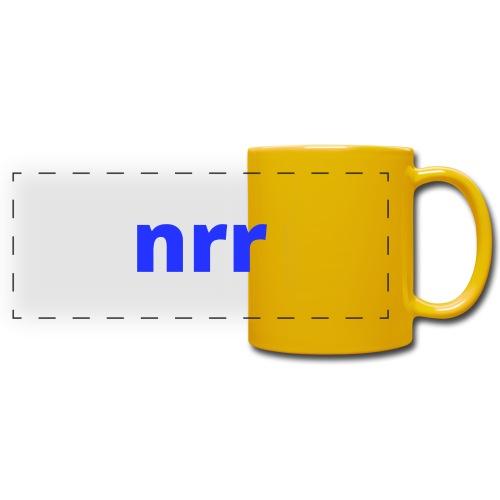 NEARER logo - Full Colour Panoramic Mug