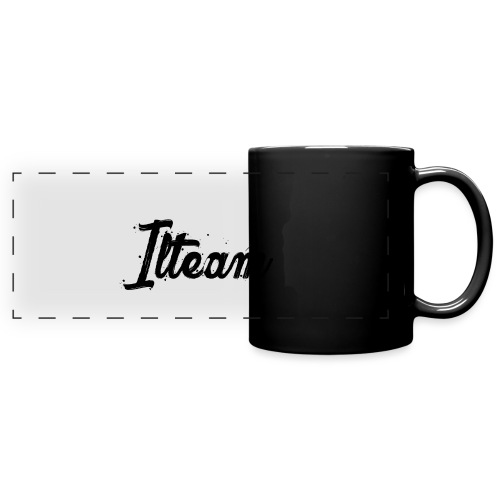 Ilteam Black and White - Mug panoramique uni
