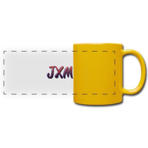 JXM Logo - Full Color Panoramic Mug