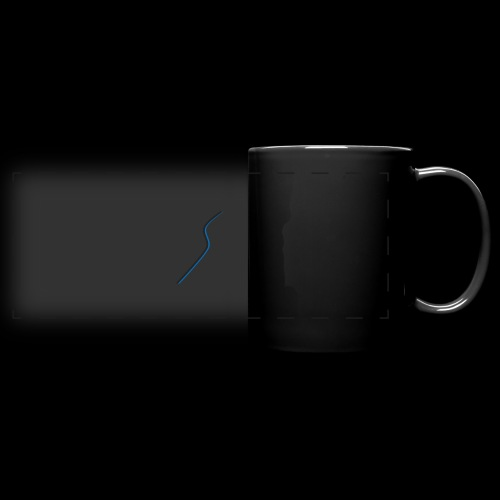 logo Style bleu - Mug panoramique uni