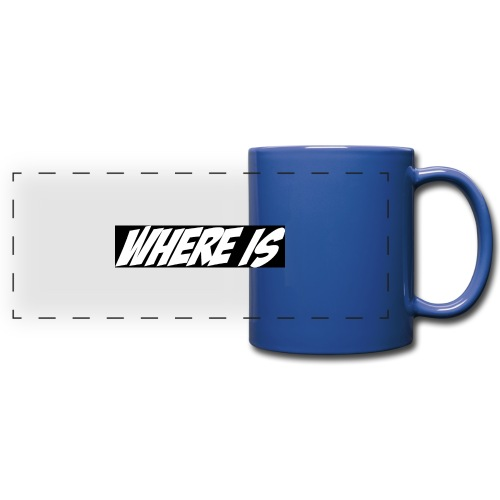 Where IS - Mug panoramique uni