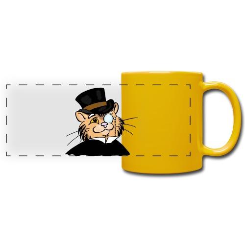 Gatto nonno - Tazza colorata con vista