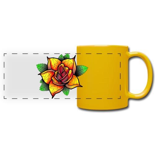 rose - Mug panoramique uni