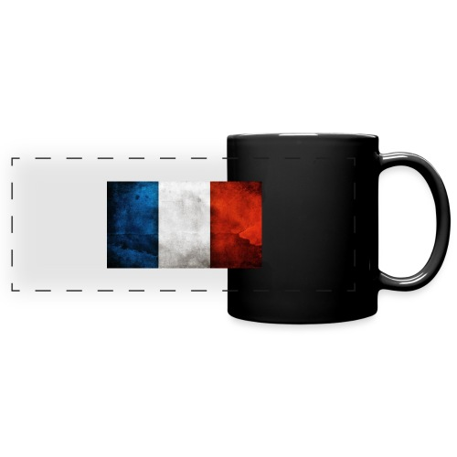 France Flag - Full Colour Panoramic Mug