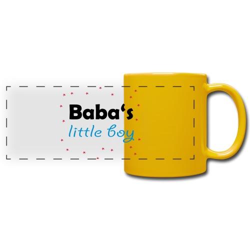 Baba's litte boy Babybody - Panoramatasse farbig
