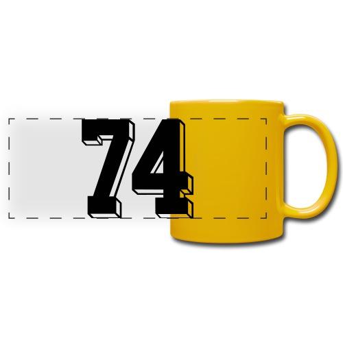 Football 74 - Full Colour Panoramic Mug
