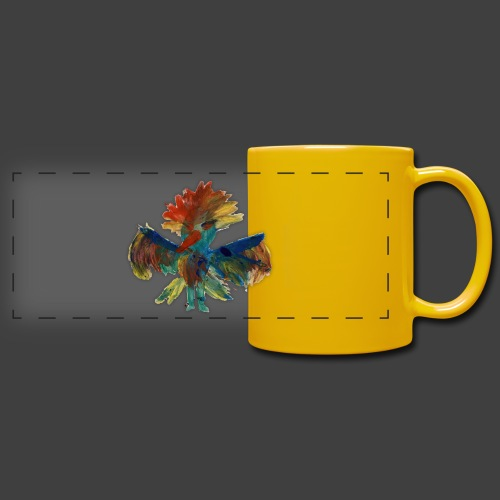 Mayas bird - Full Color Panoramic Mug