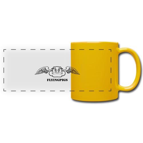 Flyingpigs mug - Färgad panoramamugg