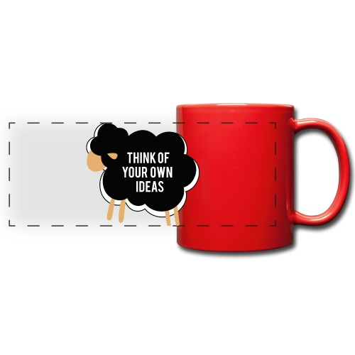 Think of your own idea! - Full Color Panoramic Mug