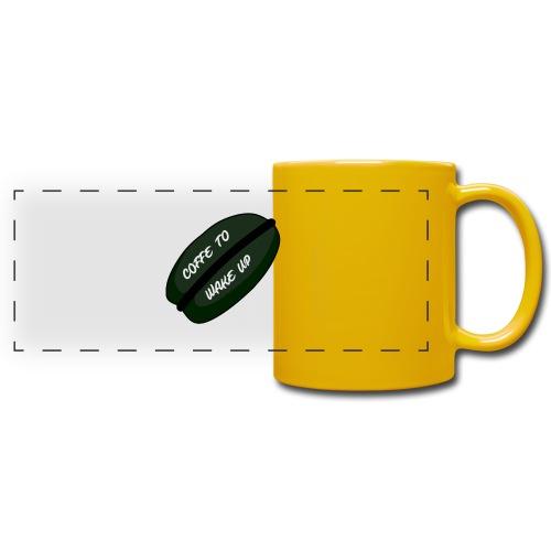 Coffee to wake up - Panoramamok gekleurd