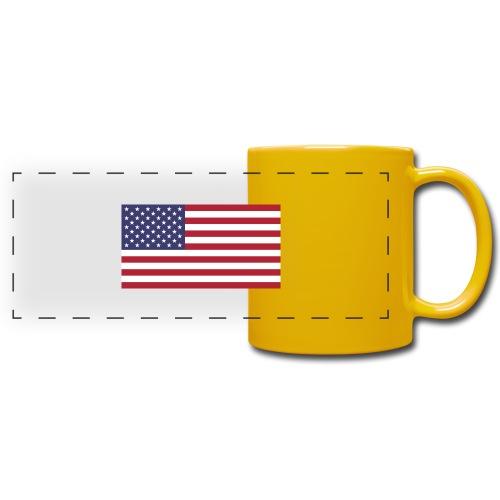 USA flagg - Panoramakopp i farge