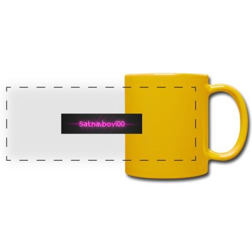 Satnavboy100 Shirt - Full Colour Panoramic Mug