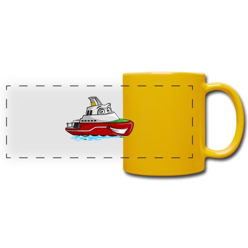 Boaty McBoatface - Full Color Panoramic Mug