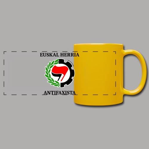 EH antifaxista pour fond clair - Mug panoramique uni