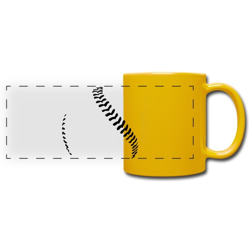 Baseball - Full Color Panoramic Mug