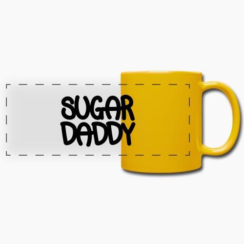 Sugar Daddy Zwart - Panoramamok gekleurd