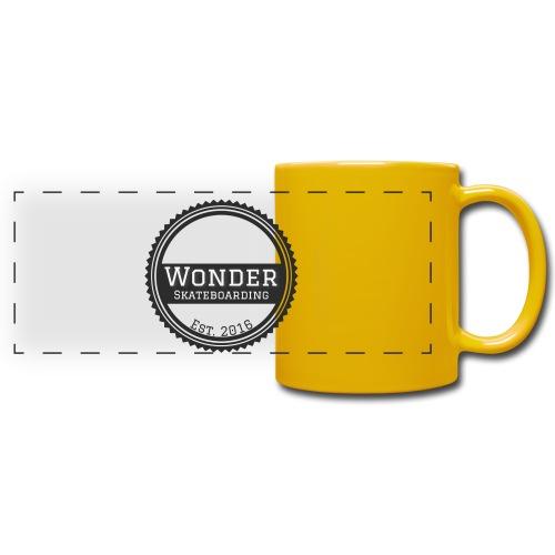Wonder unisex-shirt round logo - Panoramakrus, farvet