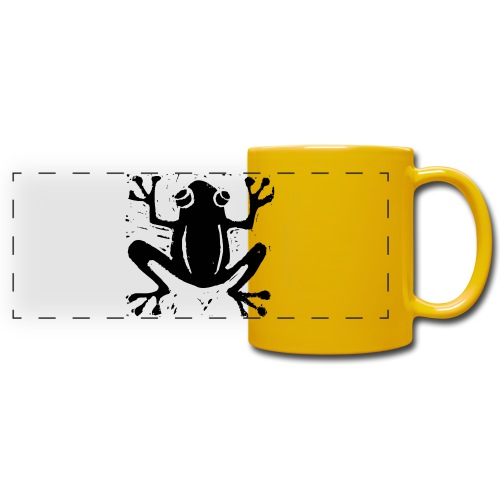Crafty Wotnots Tree Frog - Full Color Panoramic Mug